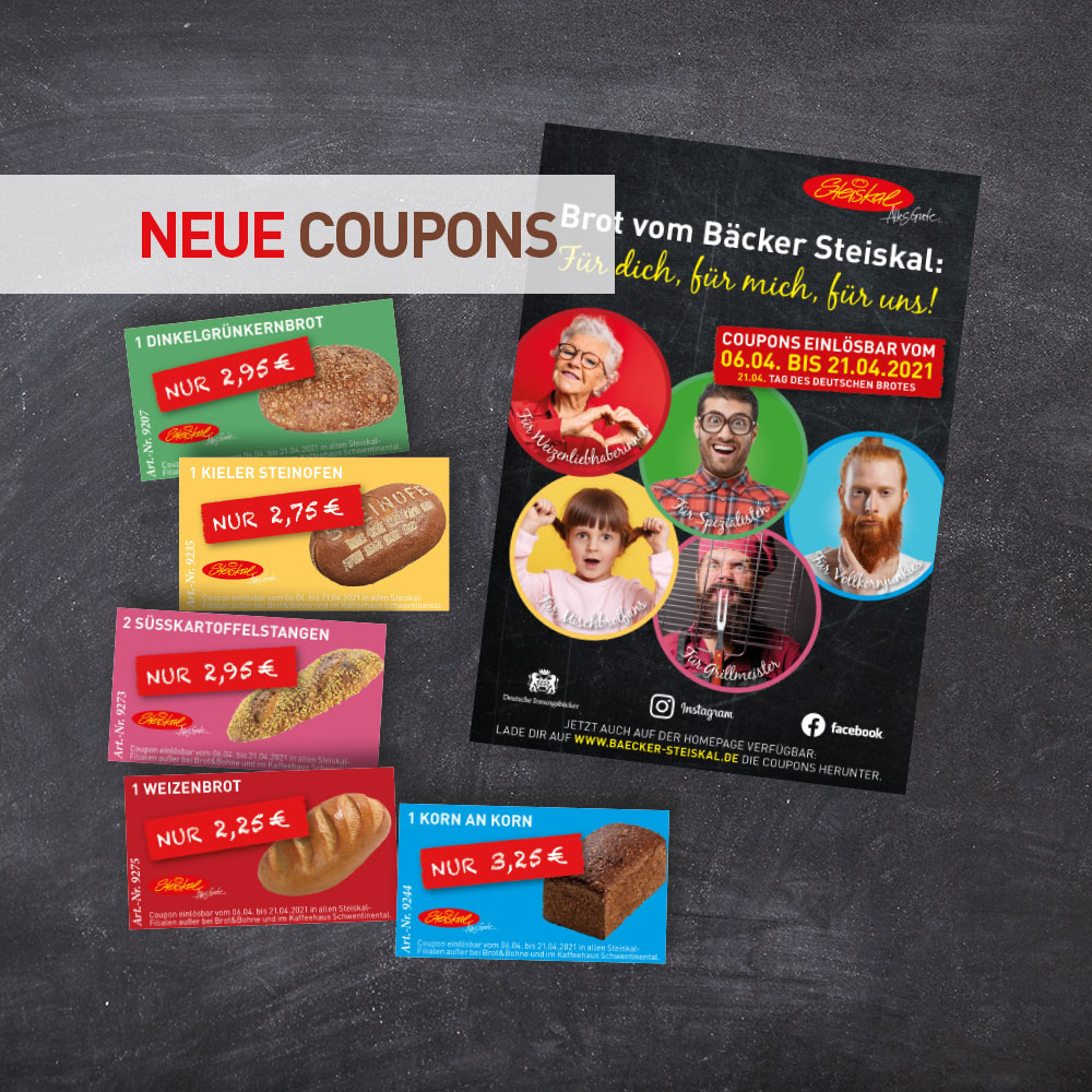 Die aktuelle Coupon-Aktion!